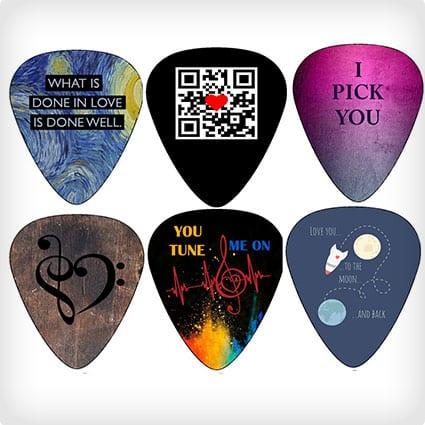 Love Themed Guitar Picks