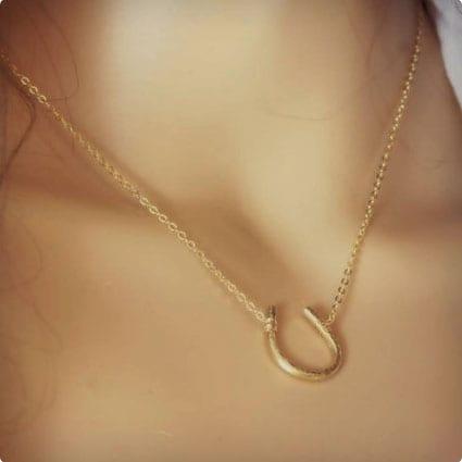 Lucky Horseshoe Necklace