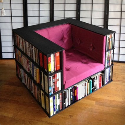 Luxury Bookcase Chair