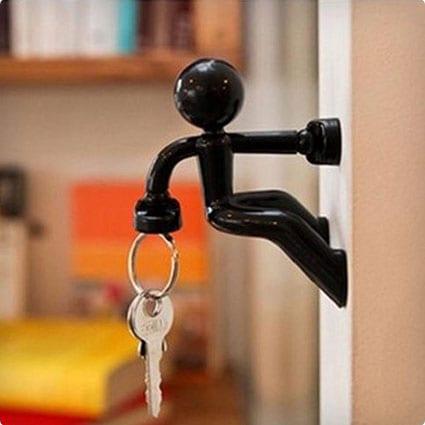 Magnetic Man Key Holder Hook