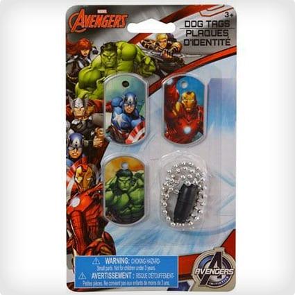 Marvel Avengers Dog Tags
