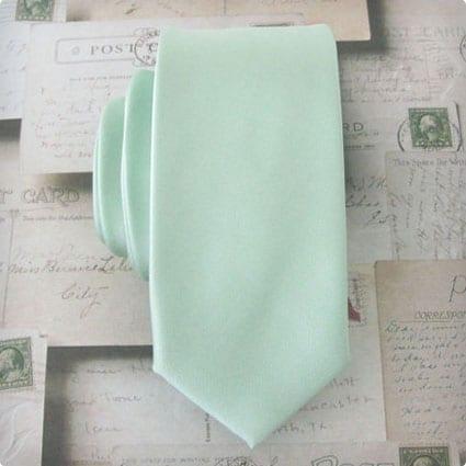 Men's Tie - J.Crew Inspired Mint