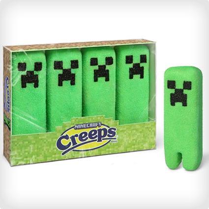 Minecraft Marshmallow Peeps