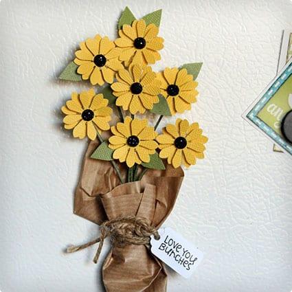 Mini Bouquet Magnet