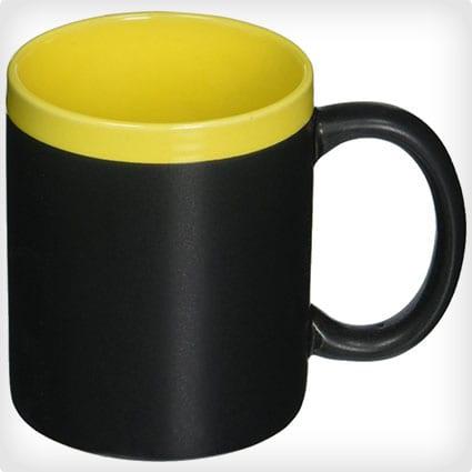 Modern Living Chalk Board Coffee Mug