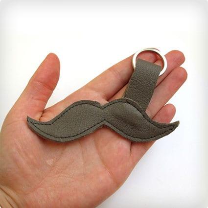 Moustache Keychain