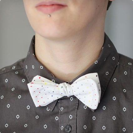 Multi-Colored Bow Tie