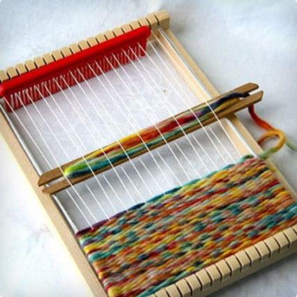 Natural Weaving Loom for Children