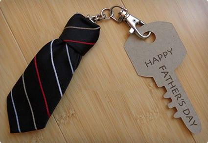 Necktie Keychain
