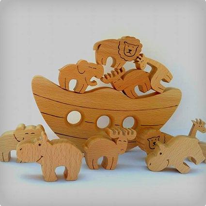 Noah's Ark Balancing Game