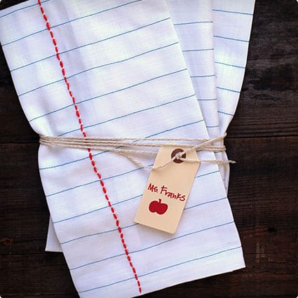 Notebook Tea Cloths