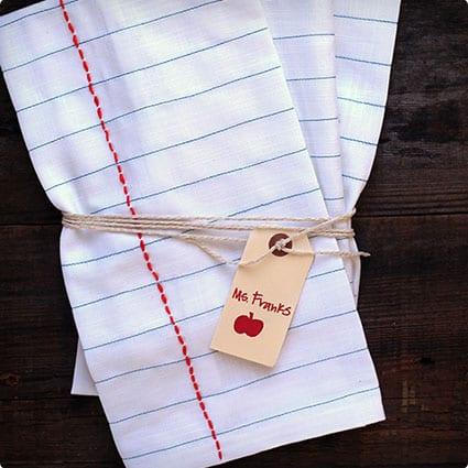 Notebook Tea Cloths