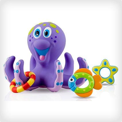 Nuby Octopus Hoopla Bathtime Fun