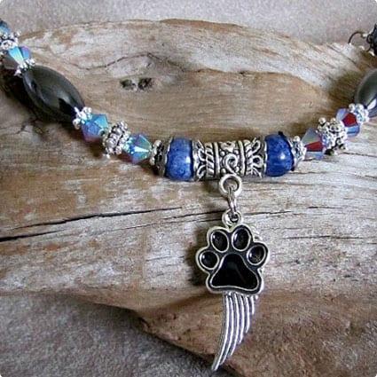 Pet Angel Wing Bracelet