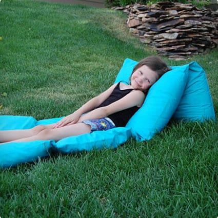 Pillow floor LOUNGER Pillow Bed