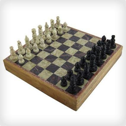 Rajasthan Stone Chess Set