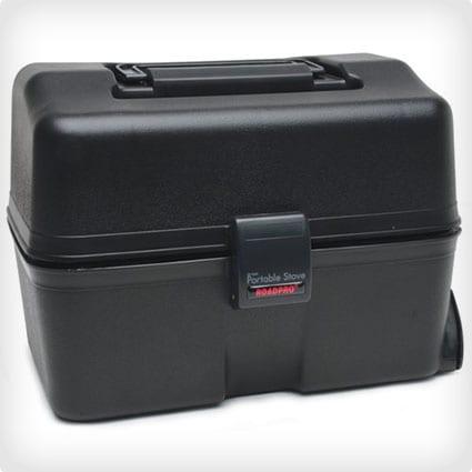 RoadPro 12-Volt Black Portable Stove