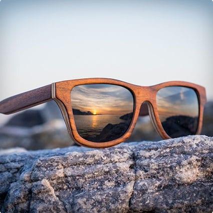 Rosewood Wayfarer Sunglasses