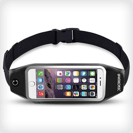 Running Belt Waist Pack with Zipper for Phone