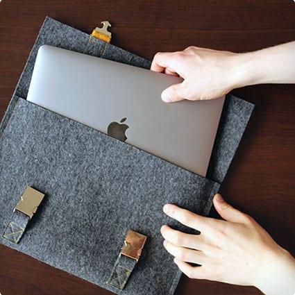 Satchel Inspired Macbook Cover