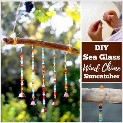 Sea Glass Windchime