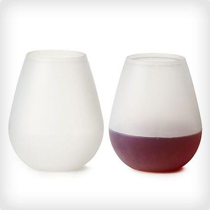 Silicon Wine Glasses
