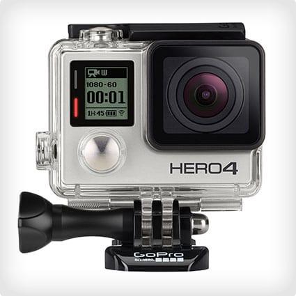 Silver GoPro HERO4