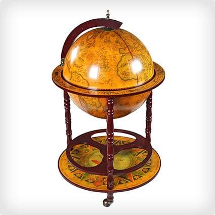 Italienische Globe-Leiste aus dem 16. Jahrhundert