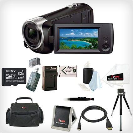 Sony HD-Videoaufnahme-Camcorder