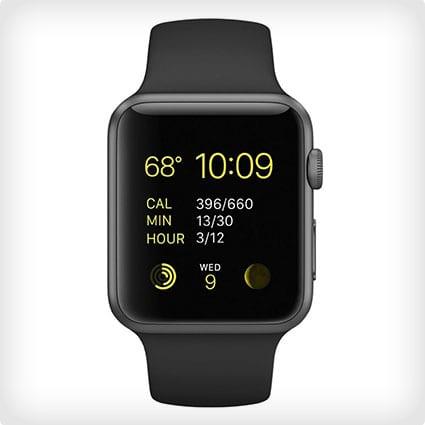 Space Grey Apple Watch Sport