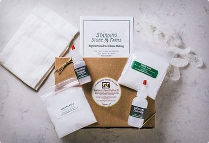Standing Stone Farms Basic Beginner Cheese Making Kit