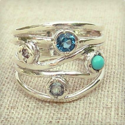 Stone Turquoise Ring
