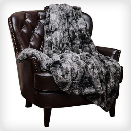 Superweiche Fuzzy Faux Fur Decke