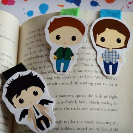 Supernatural Magnetic Bookmarks