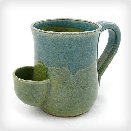 Tea Bag Pocket Holder Mug