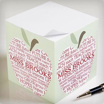 Teacher's Note Cube