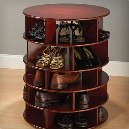 The 25 Pair Shoe Turntower