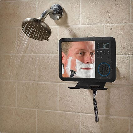The Only Bluetooth Shower Mirror Radio