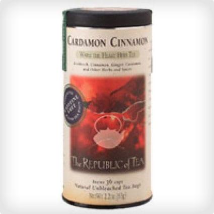 The Republic of Tea, Cardamon Cinnamon Tea, 36-Count