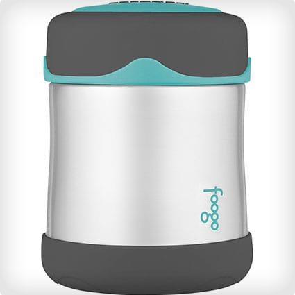 Thermos Foogo Vacuum Insulated Stainless Steel 10-Ounce Food Jar