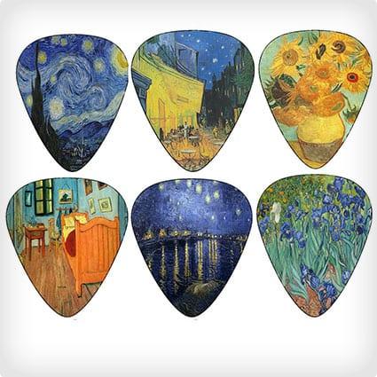Vincent Van Gogh Guitar Picks