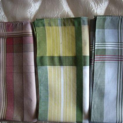 Vintage Elegant Handkerchiefs