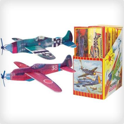 WWII Foam Gliders