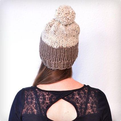 Women's Pom Pom Hat