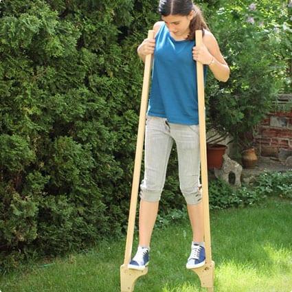Wooden Stilts for children