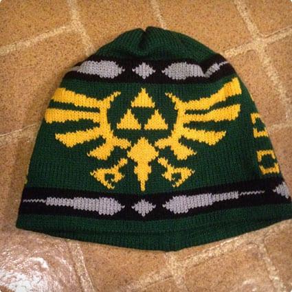 Zelda Triforce Beanie