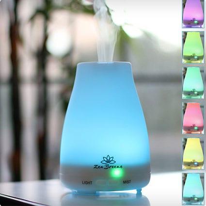 Zen Breeze, Aromatherapy Essential Oil Diffuser