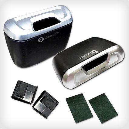 Zone Tech Universal Traveling Portable Mini Car Trash Can