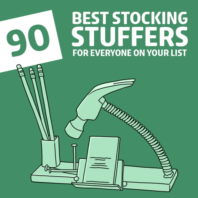 These are the absolute best stock stuffer ideas! So unique and cool.