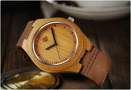 Bamboo Quartz Watch